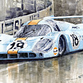 Porsche 917 Lh 24 Le Mans 1971 Rodriguez Oliver by Yuriy  Shevchuk