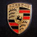 Porsche Emblem -211c by Jill Reger