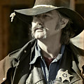 Portrait Of A Bygone Time Sheriff by Christine Till