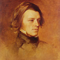 Portrait Of Alfred Lord Tennyson by Samuel Laurence