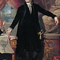 Portrait Of George Washington by Joes Perovani