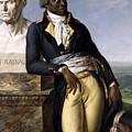 Portrait Of Jean-baptiste Belley by Anne Louis Girodet de Roucy-Trioson