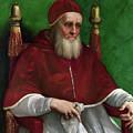 Portrait Of Pope Julius II - 1511 by Raphael