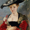 Portrait Of Susanna Lunden by Peter Paul Rubens
