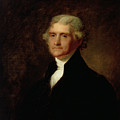 Portrait Of Thomas Jefferson by Asher Brown Durand
