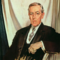 Portrait Of Woodrow Wilson by Sir William Orpen