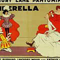 Poster For Cinderella by Tom Browne