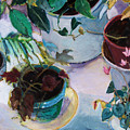 Potted Plants by Diane Ursin
