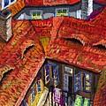Prague Roofs 01 by Yuriy  Shevchuk
