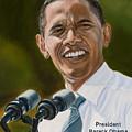 President Barack Obama by Christopher Oakley