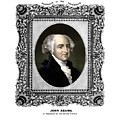 President John Adams Portrait  by War Is Hell Store