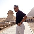 President Obama Tours The Egypts Great by Everett