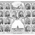 Presidents Of The United States 1776-1876 by War Is Hell Store
