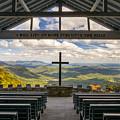 Pretty Place Chapel - Blue Ridge Mountains Sc by Dave Allen