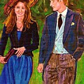 Prince William And Kate The Young Royals by Carole Spandau