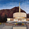 Provo Temple by Jeff Brimley