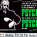 Psycho, Director Alfred Hitchcock by Everett