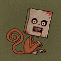 Psycho Sack Monkey by John Schwegel