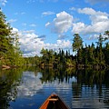 Quiet Paddle by Larry Ricker