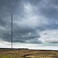 Radio Tower In Field by Jon Boyes