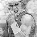 Rafael Nadal by Alexandra Riley