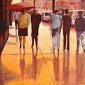 Rain In Manhattan Number Eighteen by Tate Hamilton