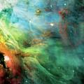 Rainbow Orion Nebula by The  Vault - Jennifer Rondinelli Reilly
