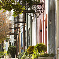 Rainbow Row Charleston Sc 2 by Dustin K Ryan