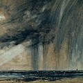Rainstorm Over The Sea by John Constable