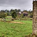 Rainy Day On The Farm by Douglas Barnett