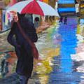 Rainy New York by Michael Lee