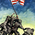 Raising The Flag On Iwo Jima by War Is Hell Store