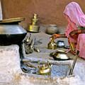 Rajasthani Woman by Michele Burgess