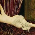 Reclining Nude by Henri Fantin Latour
