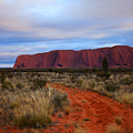 Red Center Dawn by Mike  Dawson