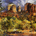 Red Rock Crossing by Elaine Frink