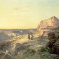 Red Rock Trail by Thomas Moran