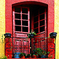 Red Window by Mexicolors Art Photography