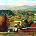 Reeds Farm Ithaca New York by Ethel Vrana