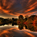 Reflecting Autumn by Kim Shatwell-Irishphotographer