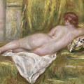 Rest After The Bath by Pierre Auguste Renoir
