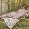 Rest After The Bath by Pierre Auguste Renoir