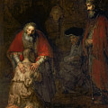 Return Of The Prodigal Son by Rembrandt Harmenszoon van Rijn