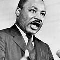 Rev. Martin Luther King, Speaking by Everett