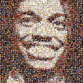 Rg3 Redskins History Mosaic by Paul Van Scott