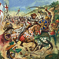 Richard The Lionheart During The Crusades by Peter Jackson
