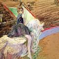 Rider On A White Horse by Henri de Toulouse Lautrec