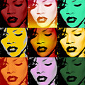 Rihanna Warhol By Gbs by Anibal Diaz