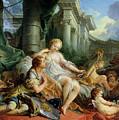 Rinaldo And Armida by Francois Boucher