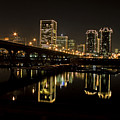 River City Lights At Night by Tim Wilson